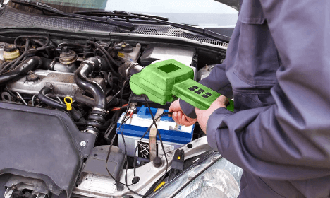 Check Battery Before Engine